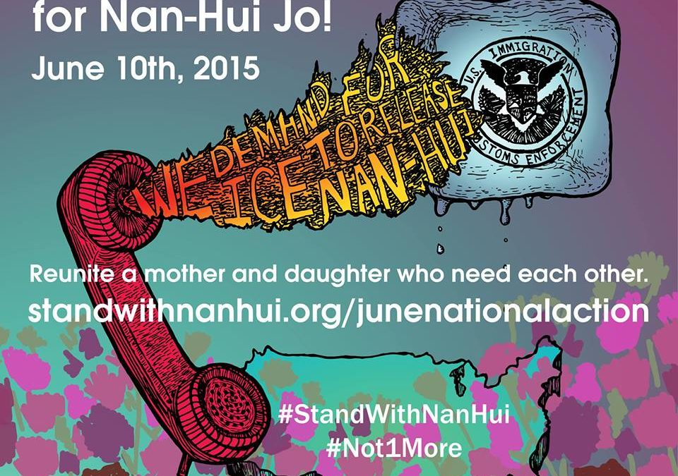 June 10: National Day of Action for Nan-Hui Jo