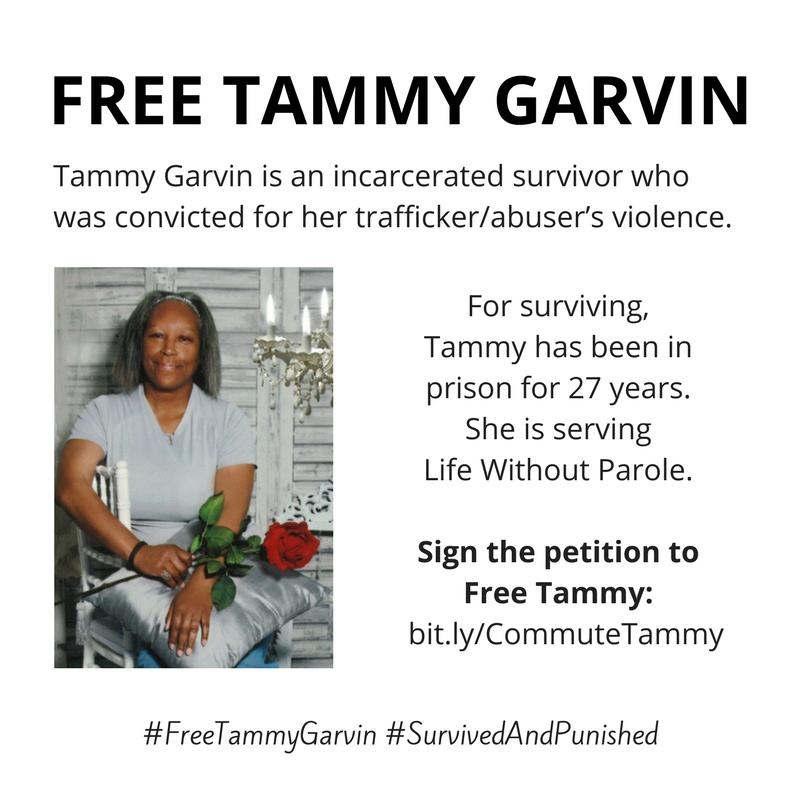 #FreeTammyGarvin